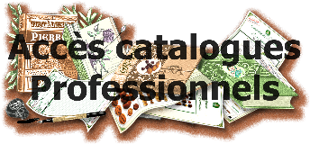 catalogues professionnels